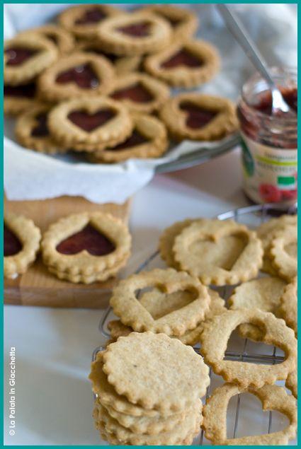 Linzer cookies #lapatataingiacchetta