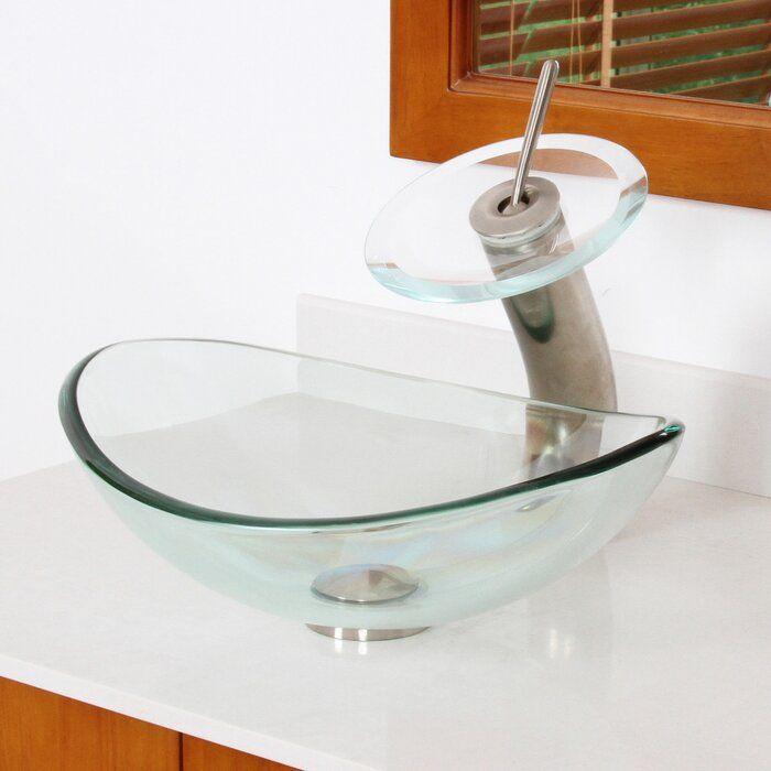Mini Tempered Glass Oval Vessel Bathroom Sink Glass Vessel Sinks Glass Bathroom Vessel Sink Bathroom