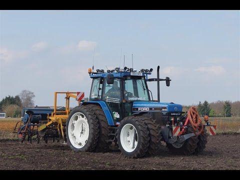 Zomertarwe Zaaien Ford  Sle Rumpstad En Stegsted Trekkerweb Landbouw Pinterest Ford