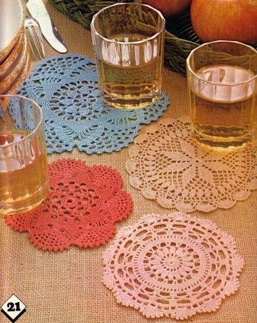 Coaster patterns