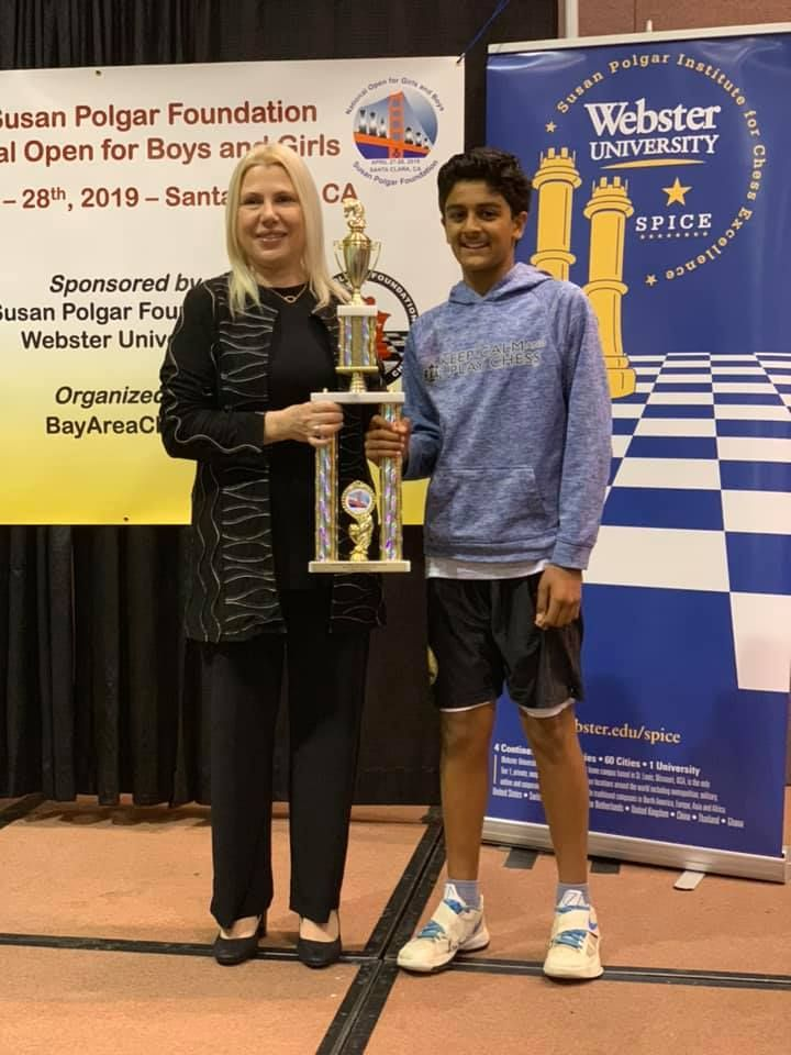 "💪💪 Vyom earns the ""National Master NM"" title after"