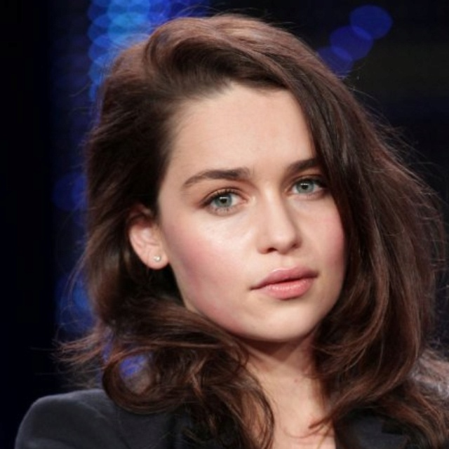 Ideas for the casting of Ana Steele. Emilia Clarke. She is very blonde in Game of Thrones but is a natural brunette with blue eyes.