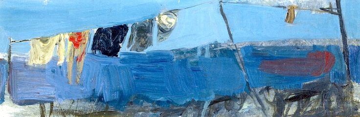 Washing in the Wind Joan Eardley