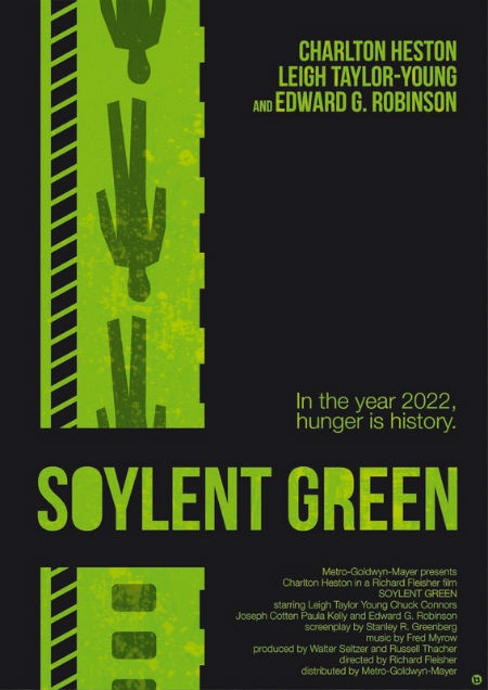 Soylent Green is made of...