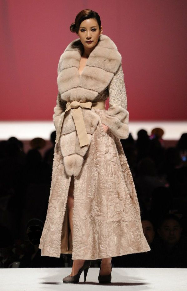 Guy Laroche Furs- this is Mink, Lamb, Lace, Cashmere