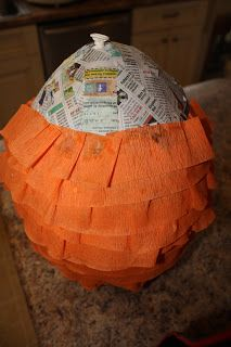 Let's Have A Party!: Duck Dynasty Party  make a real pinata for Harlee's 11th birthday party