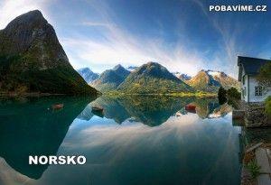 Nádherná norská příroda