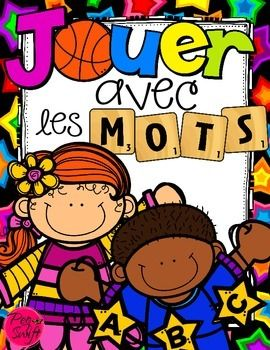 Jouer avec les mots! A collection of 16 DIFFERENT WORD WORK ACTIVITIES to keep students engaged and focused. Easy printables that can be used all year-long with each list of new words! ALL IN FRENCH!