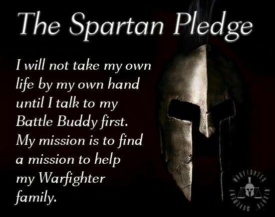 Spartan Pledge!