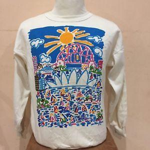 Vintage 1986 KEN DONE Down Under Australia Designer Sweatshirt Pull Over Size M  | eBay
