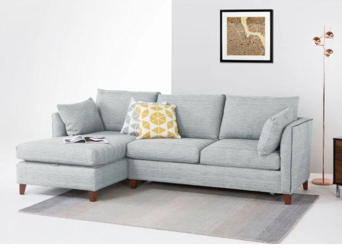 Canapé d'angle Bari