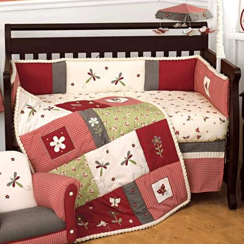 Lambs And Ivy Provence Bedding Set