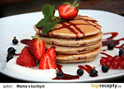 American pancakes recept - TopRecepty.cz