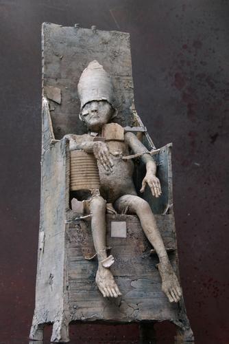 Herman Muys, ceramic sculpture