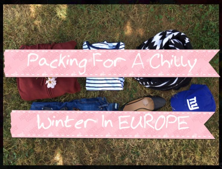 Going to Europe this winter?! check out this list of clothes you NEED to bring with you! #backpacker #travel #traveler #traveller #traveling #nomad #europe #switzerland #italy #paris #