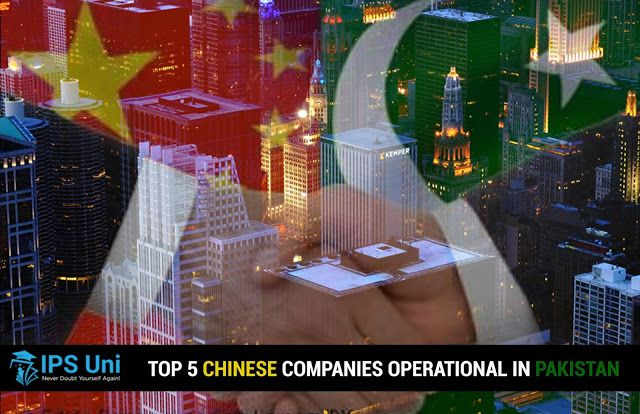 Top 5 Chinese Companies Operational In Pakistan Chinese Language Course Pakistan Company
