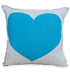 Just love your precious heart - Turquoise - Cushionopoly