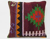 kilim pillow 24x24 euro pillow cover large pillow kilim big pillow cover pillowcase 24x24 large kilim rug 24x24 pillow case red pillow 22364