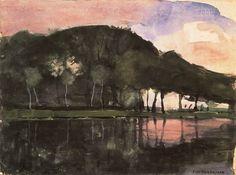 "Piet Mondrian ""The Amstel"""