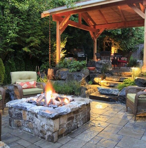 Great Bbq Pit Set Up For The Backyard Perfect Under The: 39 Best Yard Images On Pinterest