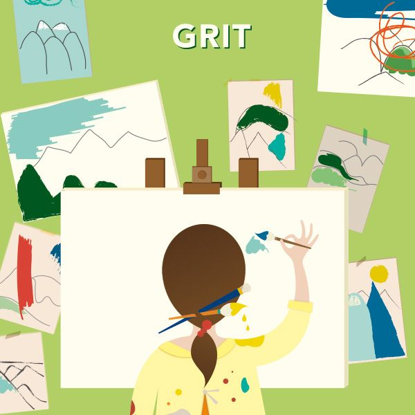 Check out these Grit tips, research, and a video from Angela Duckworth.