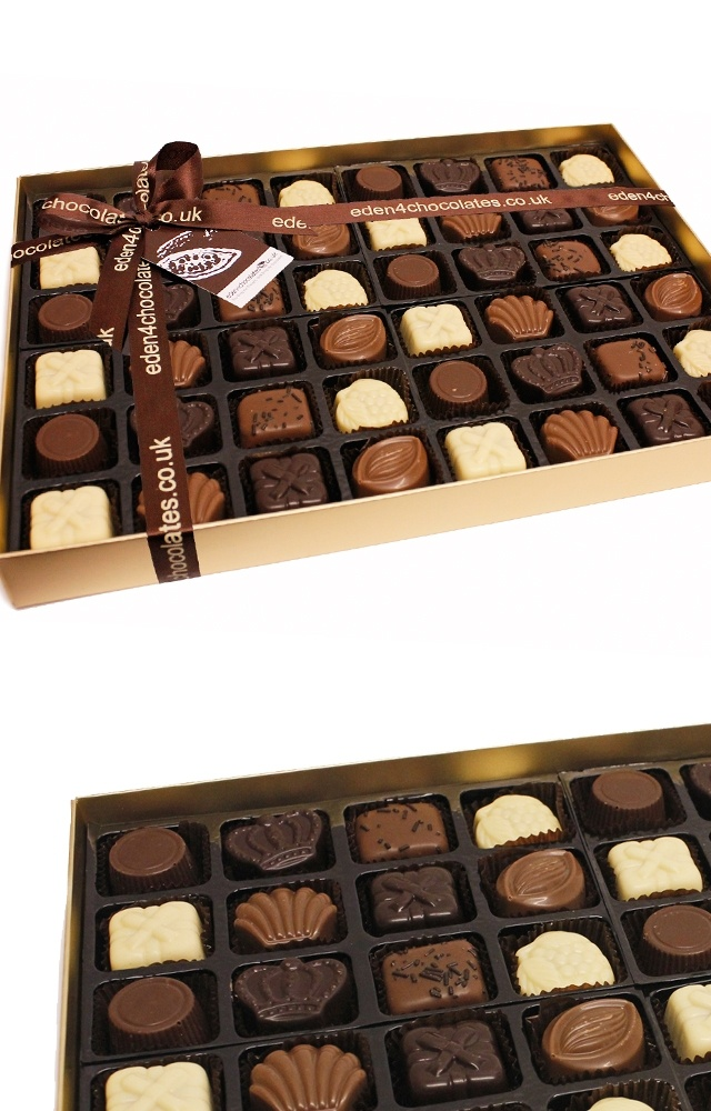 Eden Classic Belgian Chocolate Selection 720g www.eden4chocolates.co.uk