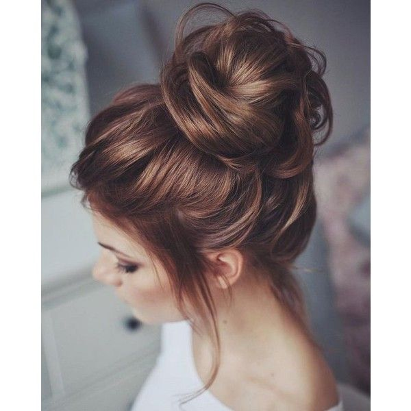 Messy hair ❤ liked on Polyvore featuring hair