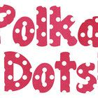 I am obsessed with polka dots this year, and my dark pink polka dot alphabet is my newest go-to for cute classroom items.This download includes c...