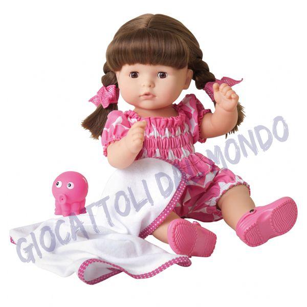 Una bambola da tenere con sé anche durante il bagnetto! Gotz, bambole di qualità