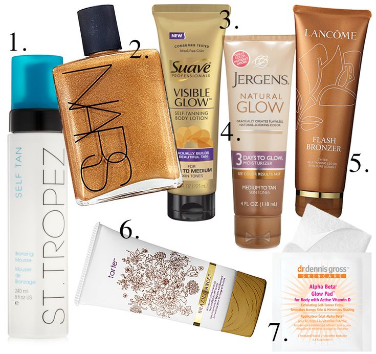 Best Self Tanners - Tanning Lotions And Bronzers