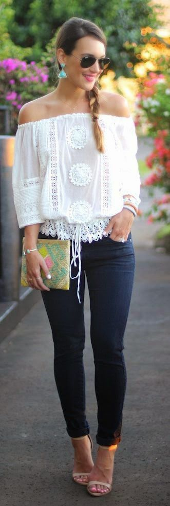 chic Saturday: Off the Shoulder