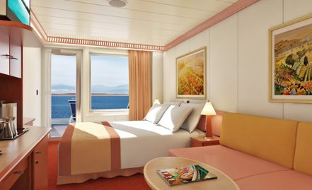 carnival pride extended balcony stateroom- carnival pride . our room