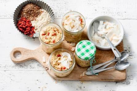 #overnight #oats #ontbijt