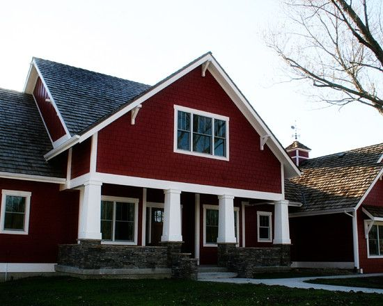 Red House Design, Pictures, Remodel, Decor And Ideas   Page 4. Red Paint  ColorsExterior ...