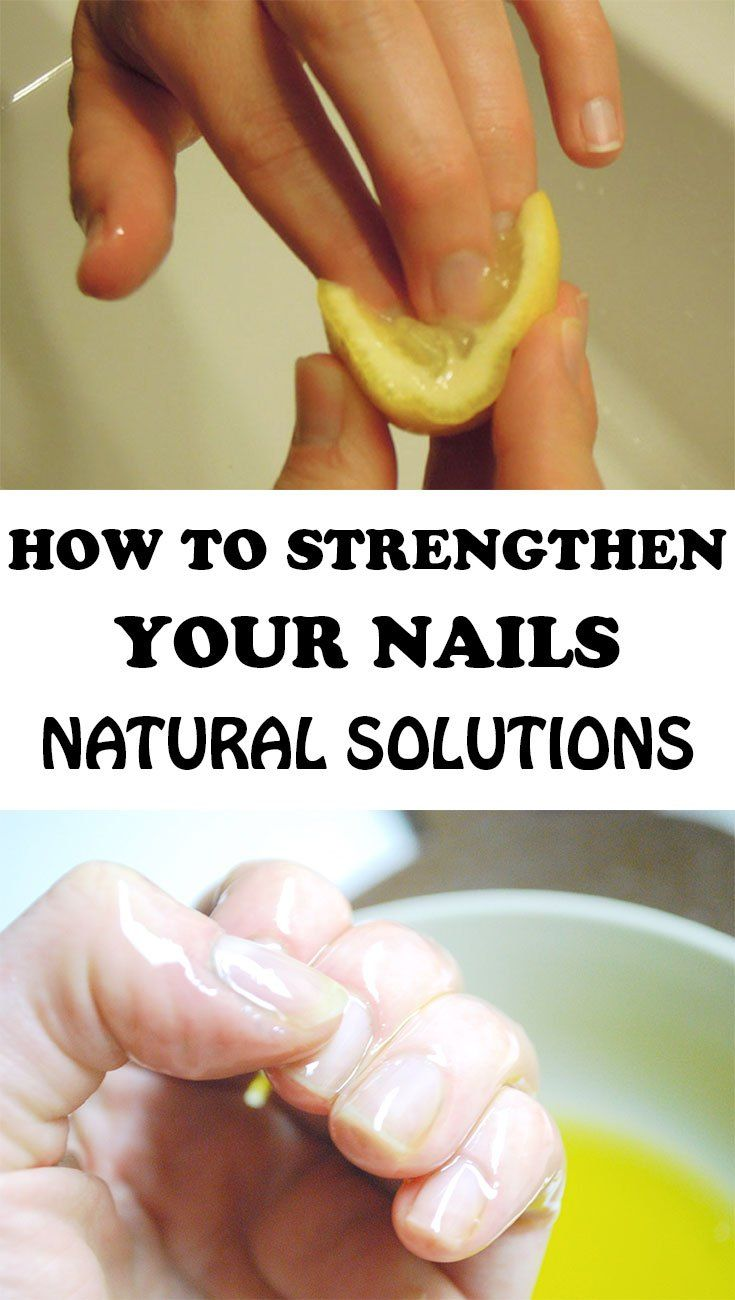 How To Strengthen Your Nails Natural Gel Nails How To Grow Nails Natural Solutions