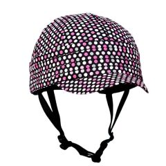 What a great idea! Cute helmet covers with visors from RockiNoggins. Designed by a trauma nurse to promote helmet usage. $24.95