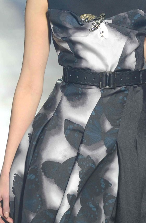 PRINTS, PATTERNS AND SURFACE EFFECTS FROM PARIS FASHION WEEK   Details from womenswear collections fall/winter 2013/14.   Lanvin