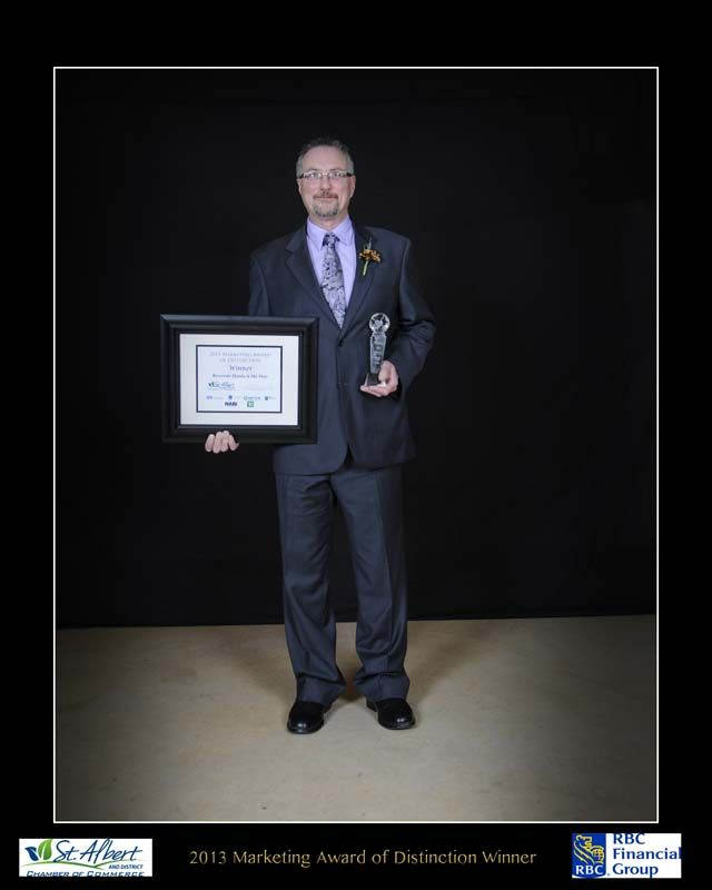 Riverside Honda & Ski-Doo - Winner of the 2013 Marketing Award of Distinction at the 2013 Small Business Week Awards Evening
