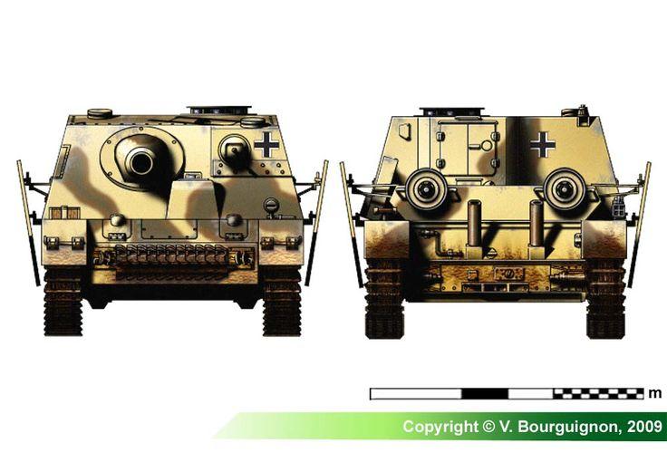 Sturmpanzer IV Brummbär (late production model)