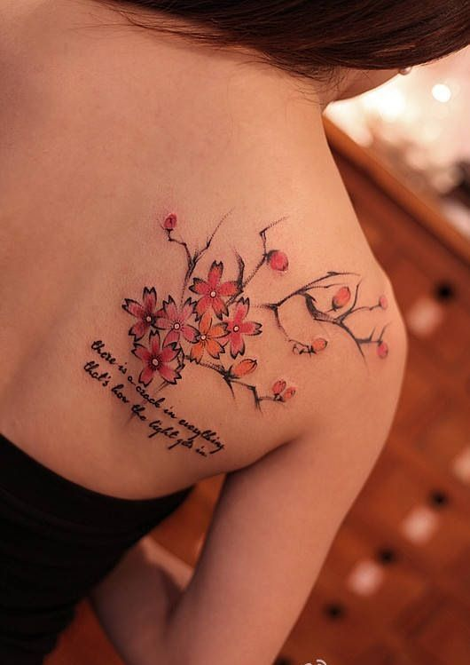 308 best images about tattoo ideas on pinterest for Chinese cherry blossom tattoo