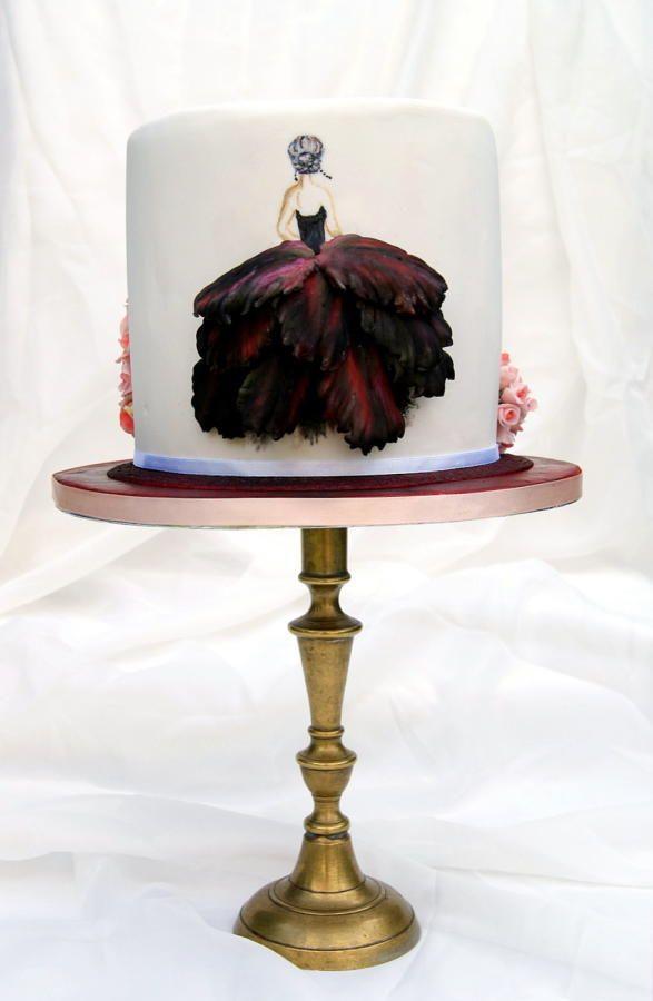 Flowery dresses - Cake by Katarzynka