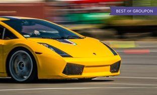 Up to 82% Off Lamborghini or Ferrari Autocross Experience