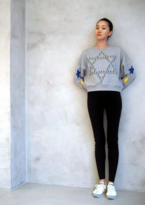 Yoon Ju  Korean fashion model