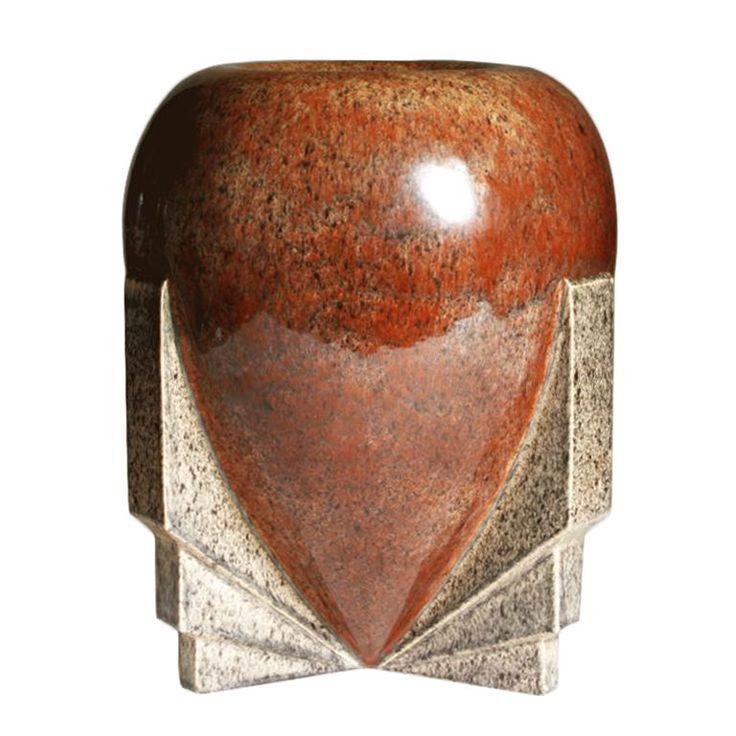 1stdibs   Art Deco Vase by Marcel Guillard