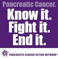 November is Pancreatic Cancer Awareness Month...Wear PURPLE to help RAISE AWARENESS!!