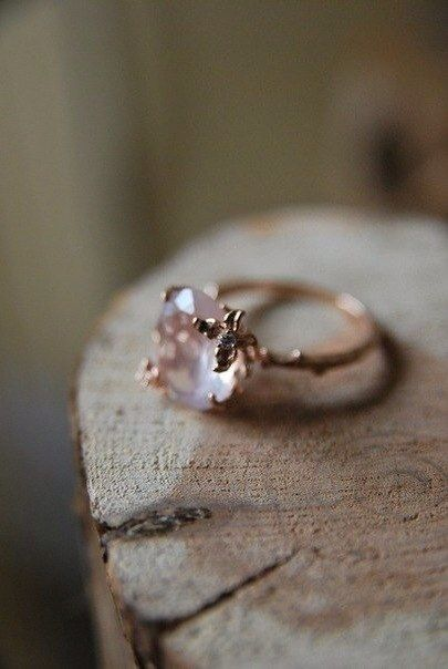 I adore the ring of this type, they remind me elves:)
