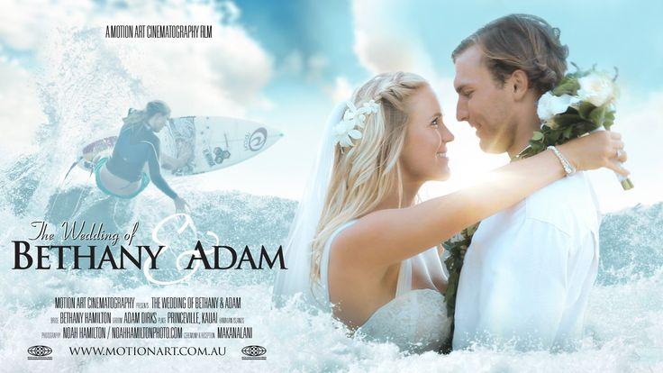 Bethany Hamilton & Adam Dirks | They make my heart happy.