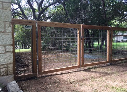 Other Amp Custom Types Of Fences Cattle Panel Fence Types