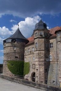 Die Festung Rosenberg in Kronach (Bayern, Deutschland) ist eine der größten Festungsanlagen in Deutschland.    The fortress Rosenberg in Kronach (Bavaria,Germany) is one of the largest fortifications in Germany. A very special destination for young and old Visitor.