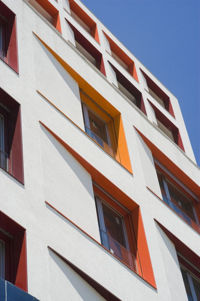 facade colours